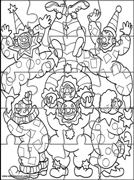 Cirque puzzle a imprimer 4 - Puzzle dessin ...