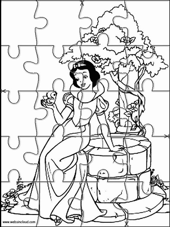 Disney Printable Jigsaw 26