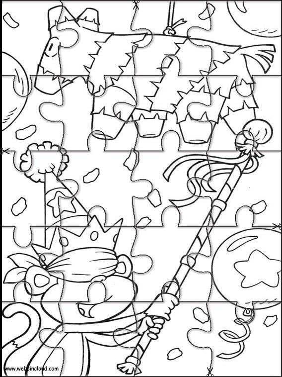 Dora the Explorer Printable Jigsaw 164
