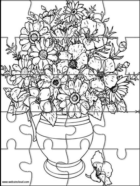 Vases à Fleurs 3