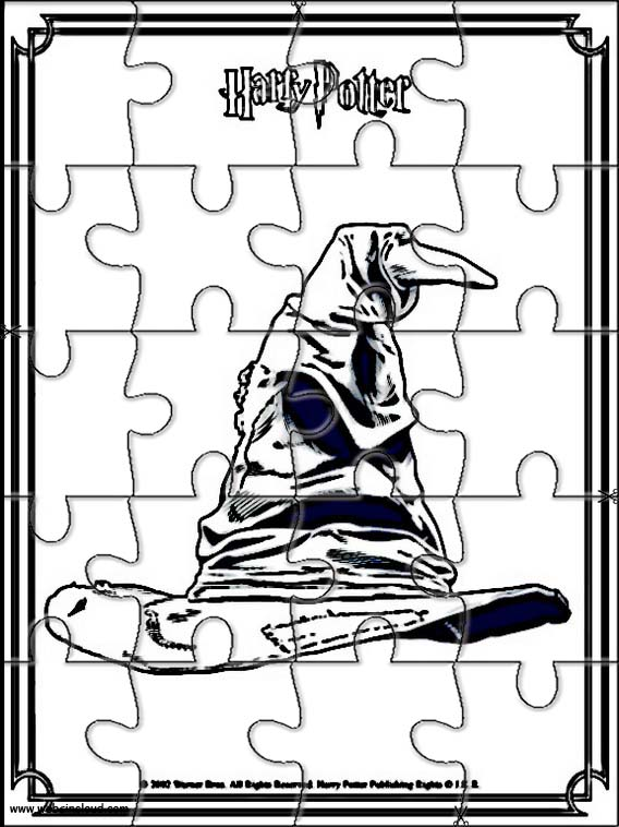 Harry potter puzzle a imprimer 11 - Coloriage puzzle ...