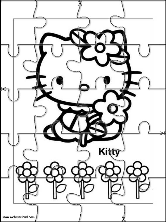 Puzzle Hello Kitty 25