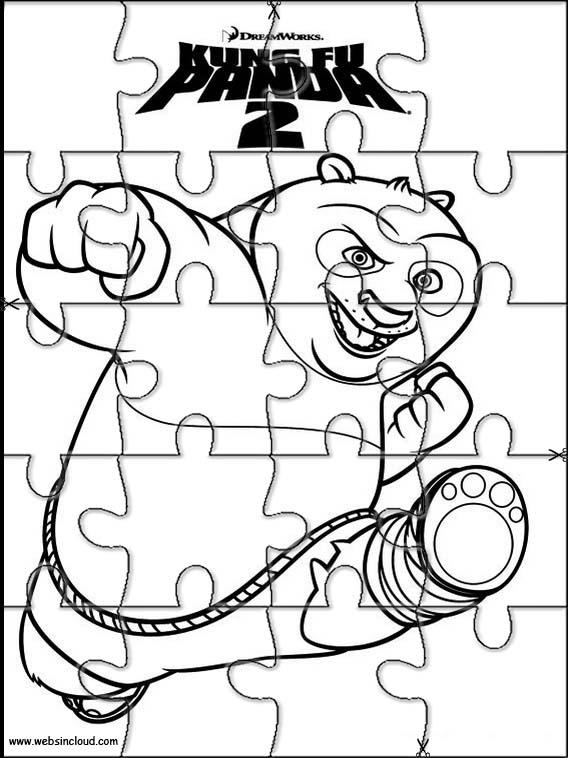 juegos de kung fu panda para colorear imprimir y pintar 2 - 28 ...