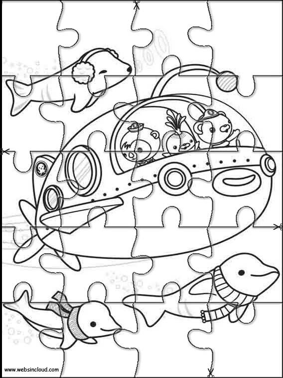 Puzzle Da Stampare E Ritagliare Octonauts 4