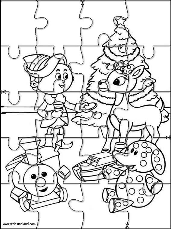 Rudolph, a rena do nariz vermelho 9