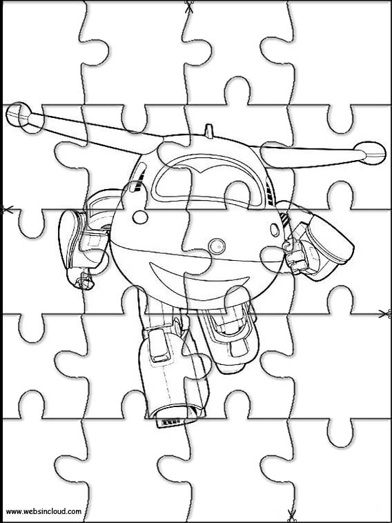 Super wings puzzle 2 for Disegni da colorare super wings