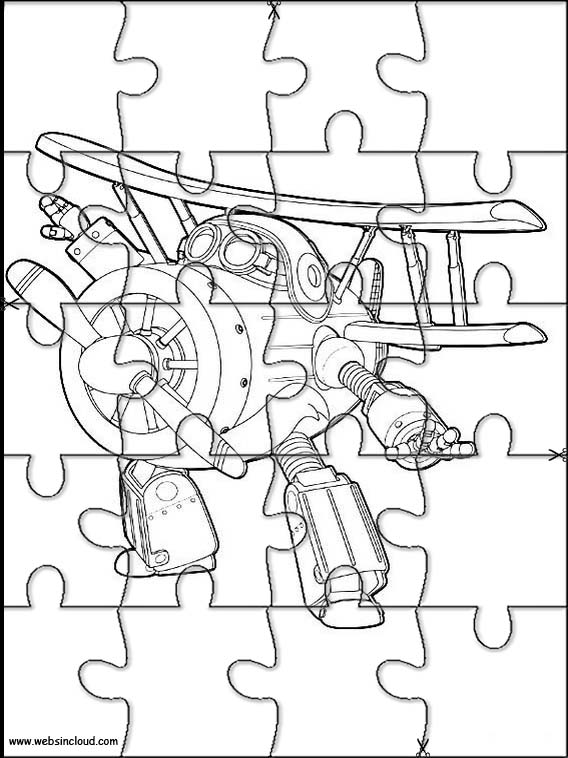 Puzzle da stampare colorare super wings 5 for Disegni da colorare super wings