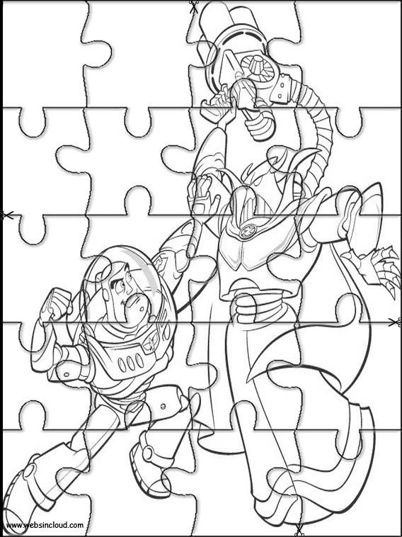 Puzzle Para Imprimir Toy Story 7