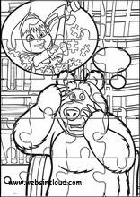 Masha e o urso6