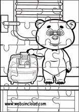 Masha e o urso8