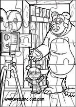 Masha e o urso9